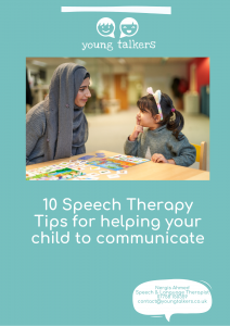 helping child with talking advice
